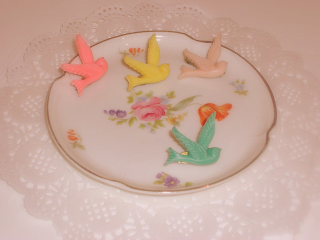 swallow brooches