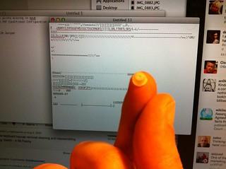 Rubber spring under a keyboard key