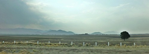 On the road from Cantona, Puebla, Mexico