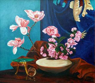 Still Life with Magnolias by David Derr | by David_Derr