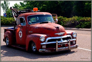 1954 CHEVROLET SERVICE TRUCK | by SpeedProPhoto