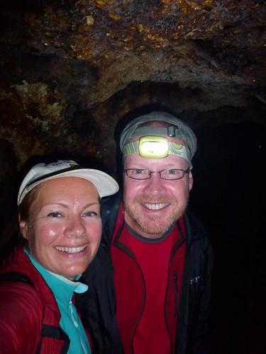 Broken Hills Hike - in de tunnel