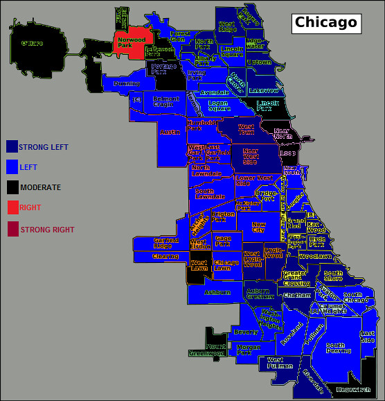 Chicago Political Map Chicago political map | A neighborhood map of Chicago's poli… | Flickr