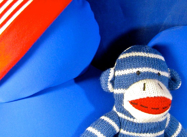iggy would like to introduce you to jocko, the sock monkey, his favorite gift of the christmas season :)