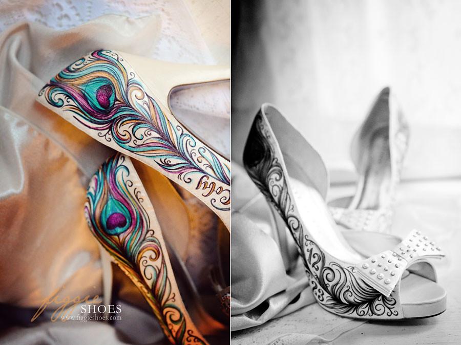 c0b1a2541ec ... SierraC-Figgie-Shoes-peacock-feather-bridal-shoes-copper-