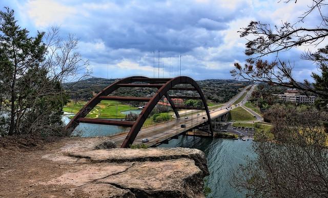 Loop 360 and the Pennybacker Bridge