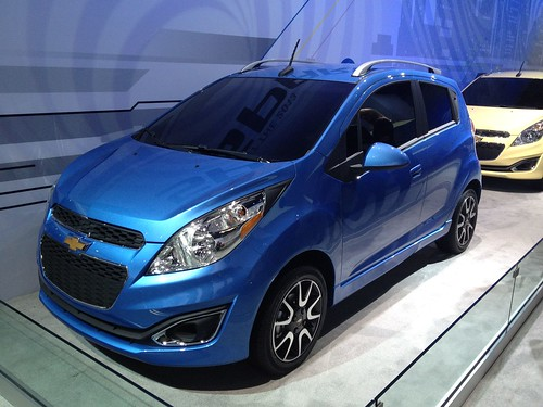 2013 Chevrolet Spark - Live from the 2012 Detroit Auto Show -  Jan 10, 1:14:11 PM Photo