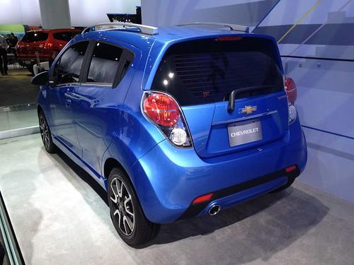 2013 Chevrolet Spark - Live from the 2012 Detroit Auto Show -  Jan 10, 1:14:31 PM Photo