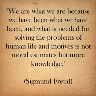 Sigmund Freud Quote | by Psychology Pictures