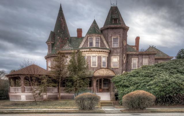 Victorian House in Spring Lake,NJ.
