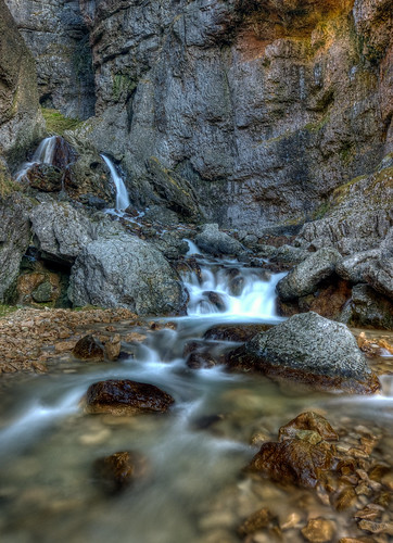 Gordale Scar Waterfalls   by The.Grim.North