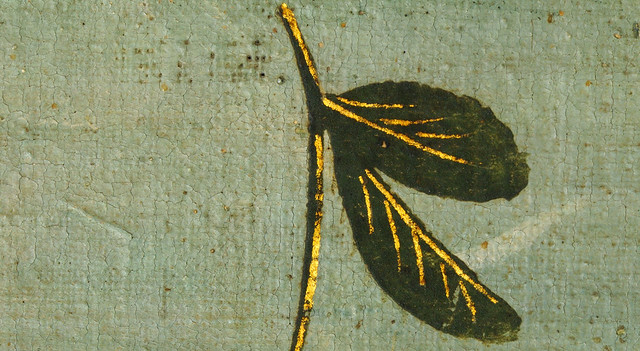 Botticelli - detail leaf
