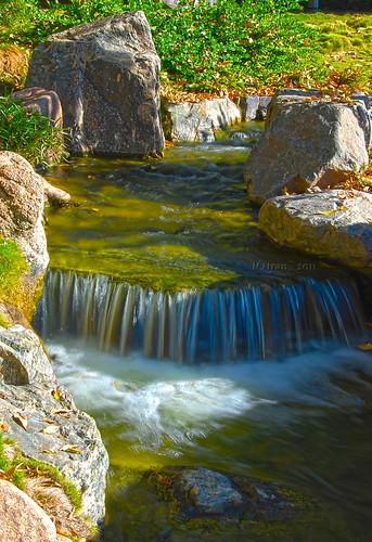 arizona lake phoenix garden japanese waterfall pond friendship az hdr japanesefriendshipgarden