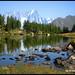 Lago d'Arpy Aosta - Grand Jorasses