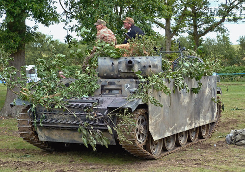Panzer III replica at the Military Odyssey Show 2011