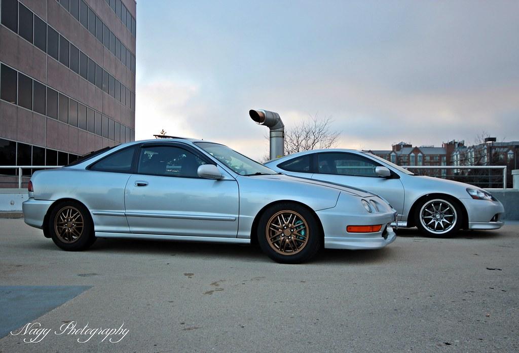 2001 Acura Integra and 2006 Acura RSX Type-S  | Alex Nagy