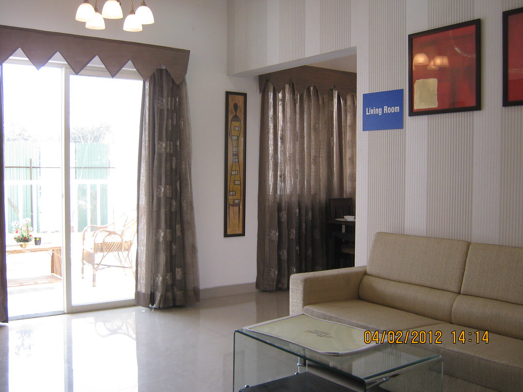 Living Sample Flat Of Miami 1 Bhk 2 Bhk Flats Behind Flickr