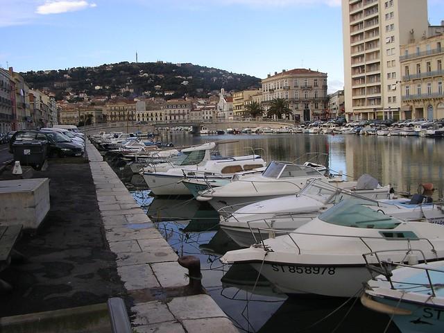 Sète- vista d'un canal