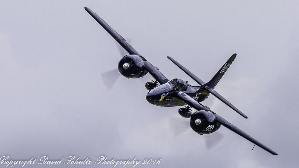 """Grumman F7F-3 Tigercat N6178C """"Bad Kitty"""""""