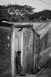 The quiet boy. | by A. adnan