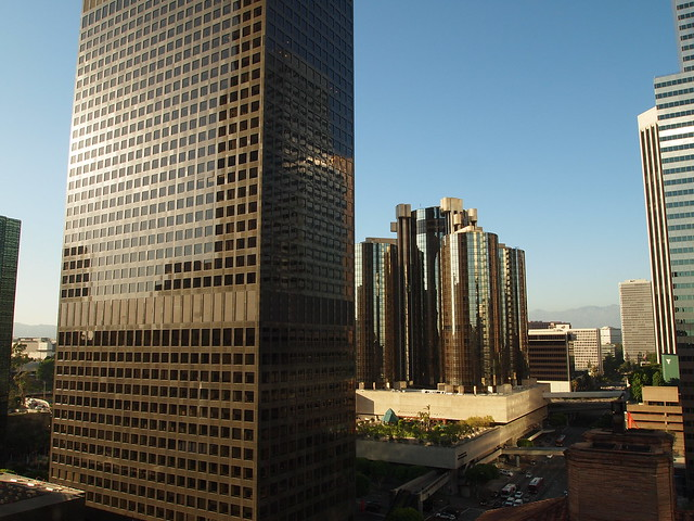 View from Standard Hotel at LA