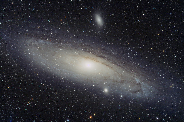 La Grande Galassia di Andromeda - The Great Galaxy in Andromeda