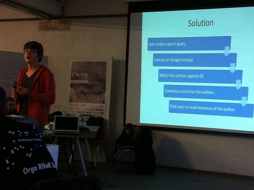 Team Climate Goggles presentation | by @anked