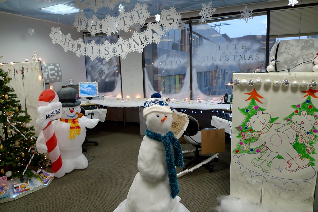 Christmas Office Decorating Contest.Office Christmas Decorating Contest Ruth Hartnup Flickr