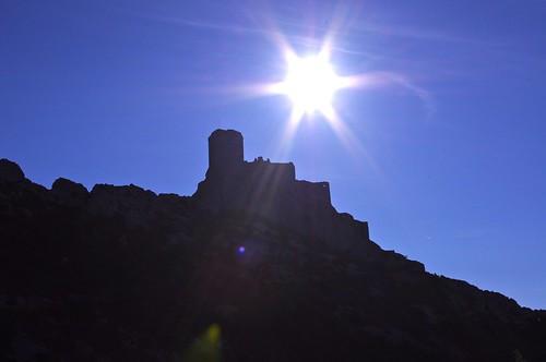 france castle château cathare quéribus