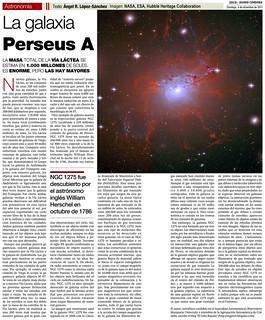 Zoco Astronomía: La galaxia Perseus A | by Ángel López-Sánchez