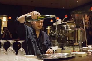 Barman Gerry Thorpe | by Renée S. Suen