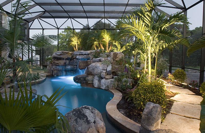 Landscaping Swimming Pool Tropical Plants Sarasota Bradent Flickr
