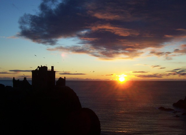 Dunnottar Castle Sunrise, 0849 AM, 29th December 2011, Explored #136