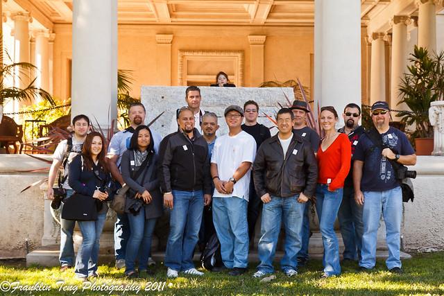 Huntington Library Photowalk- Group shot