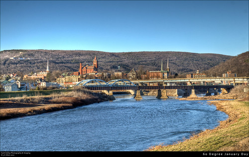 mountain church river canal stream place january bridges maryland potomacriver steeples hdr cumberland interstate68 queencity alleganycounty willscreek canont1i