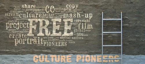 Open source free culture creative commons culture pioneers | by Sweet Chili Arts