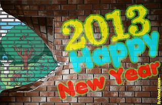 New Year 2013 ..