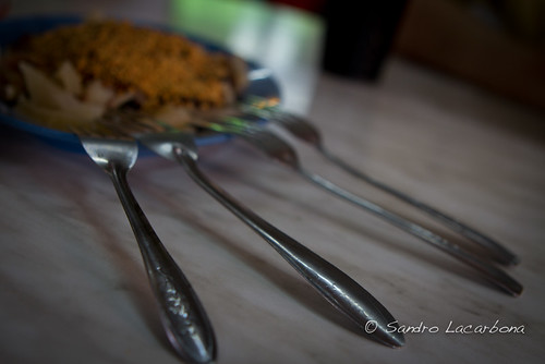4 forks, 1 plate | by Sandro_Lacarbona