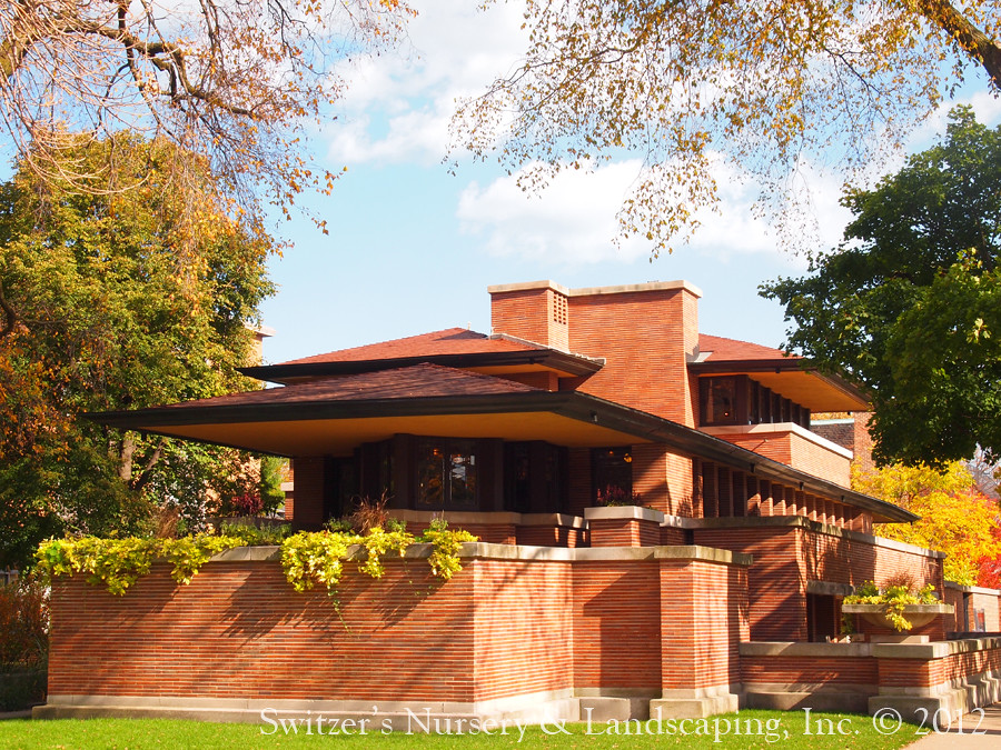 Frank Lloyd Wright The Frederick C Robie House Chicag