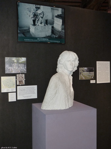Mladen Mikulin - The Plaster Model for Unrealized Bronze Bust of Jim Morrison | by Elvis L.