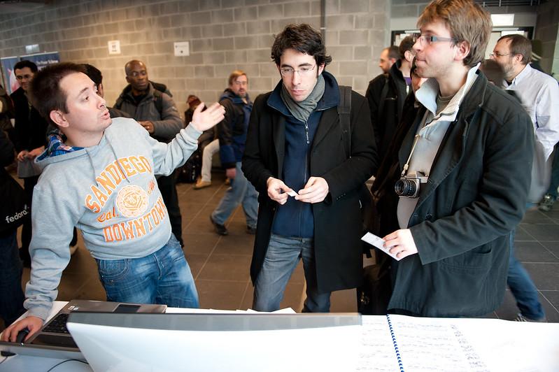 Nicolas evangelizing MuseScore