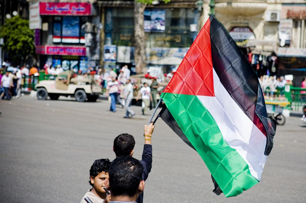 Palestine in Tahrir الطريق إلى القدس يمر من القاهرة by Hossam el-Hamalawy حسام الحملاوي