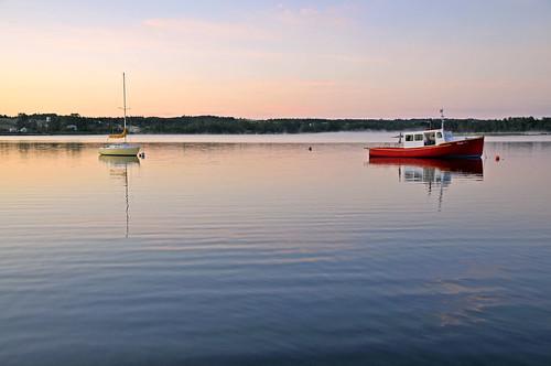 canada sunrise island boat nikon novascotia free calm capebreton dennis jarvis d300 brasdor iamcanadian 18200vr freepicture 70300mmvr dennisjarvis archer10 dennisgjarvis