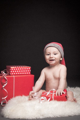 Baby christmas card | by sebbesula