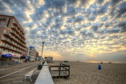 beach clouds photoshop nikon day cloudy fisheye oceancity ocmd oceancitymaryland photomatix colorefex oceangallery oceancityboardwalk d700 nikond700 davedicello hdrexposed oceangalleryboardwalk