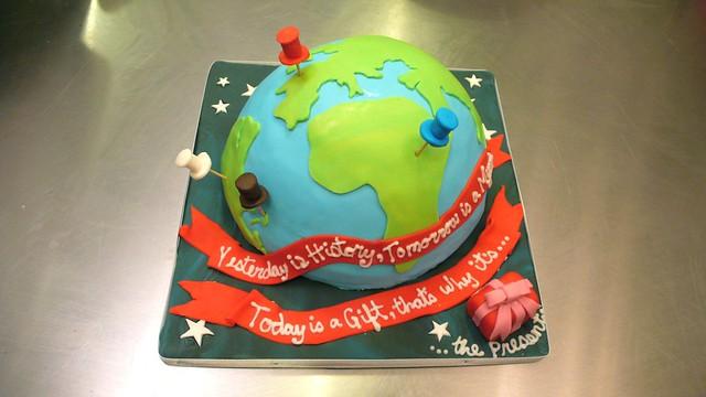 Life is Journey Birthday Cake