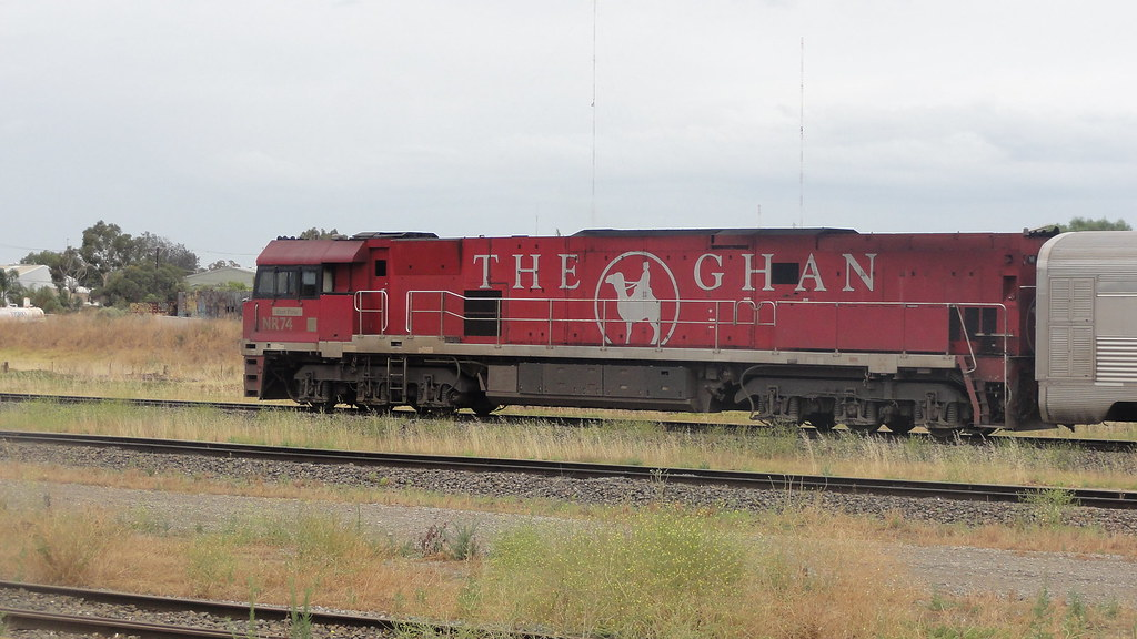 The Ghan by Ryan Smith