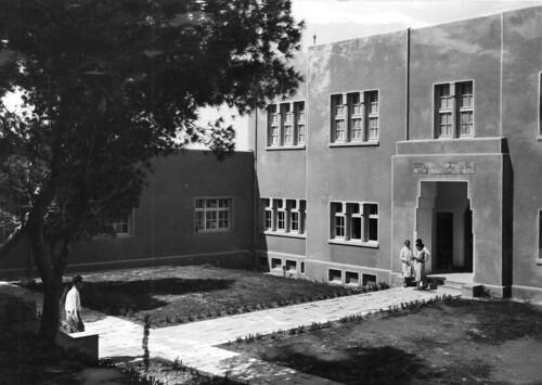 Former home of Institute Of Physics, Mt. Scopus Campus