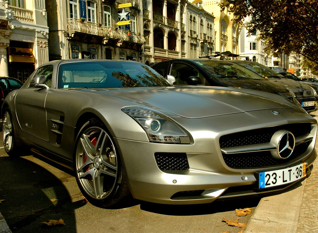 Mercedes Benz Sls Amg Lisbon Portugal In Wikipedia The Me Flickr