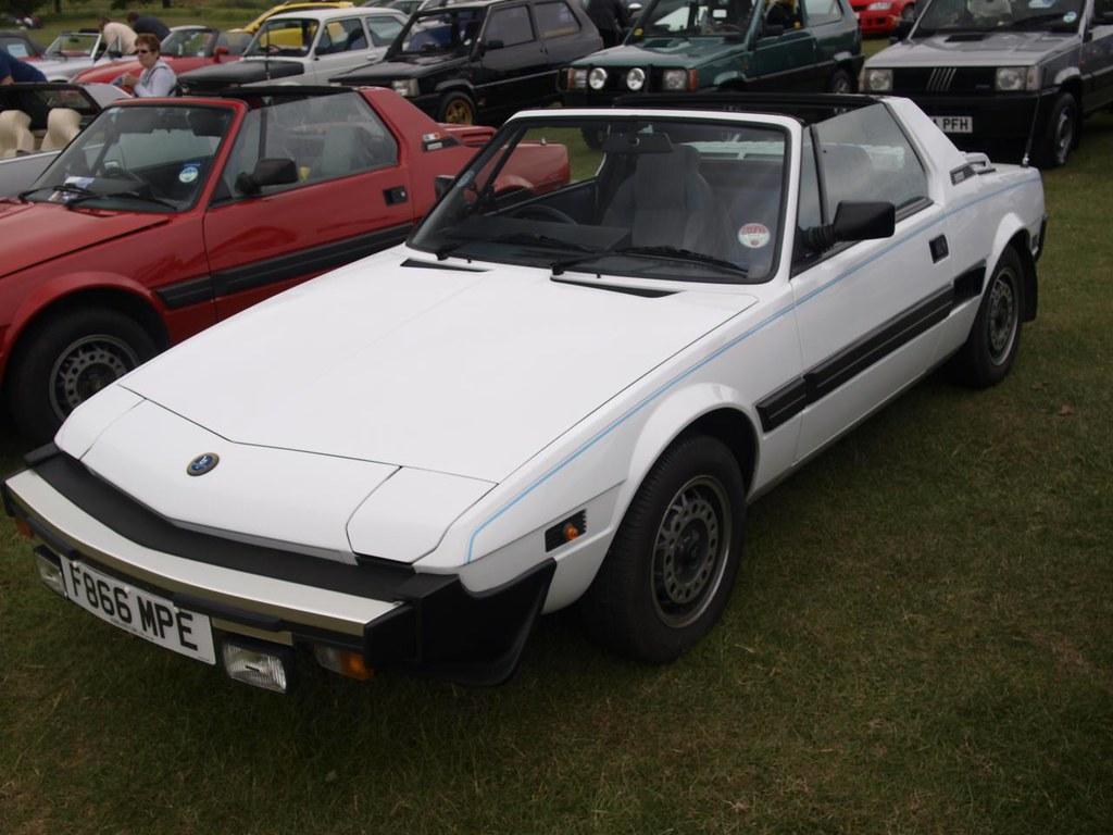 Fiat X19 Bertone Sports Cars 1988 Fiat X19 Bertone Sport Flickr